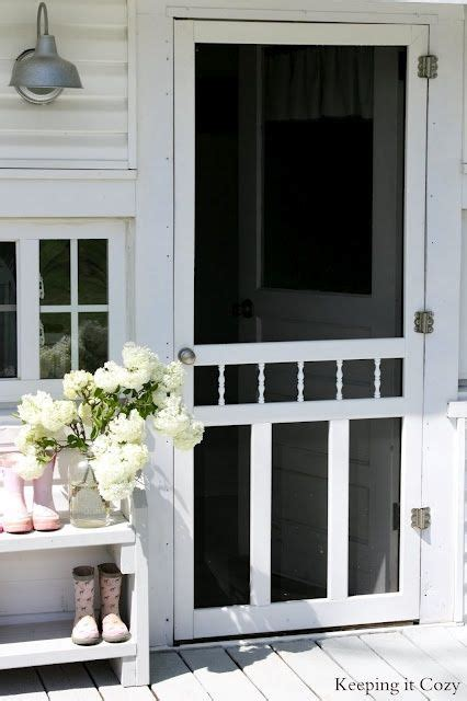 screen doors images  pinterest cottage