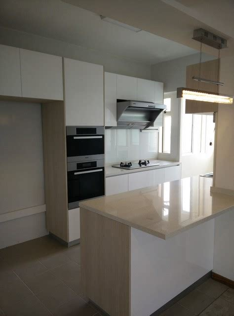 Small Bto Kitchen With Island  Kitchen  Singapore  By