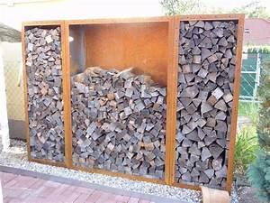 Kaminholzregal Metall Mit Rückwand : r ckwand f r kaminholzregal 1 9m x 0 6m corten edelrost ~ Orissabook.com Haus und Dekorationen