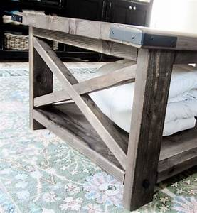 ana white build a rustic x coffee table free and easy With build a rustic coffee table
