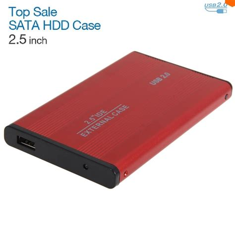 2 inch notebooks usb 2 0 2 5 inch sata enclosure external case for notebook
