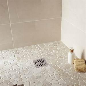 Salle De Bain Italienne Leroy Merlin : magnifique galet pour douche salle de bain avec mosaique ~ Melissatoandfro.com Idées de Décoration