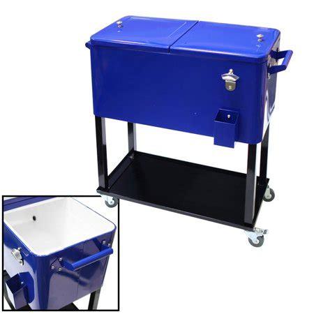 patio cooler cart xtremepowerus 65 quart patio deck cooler outdoor