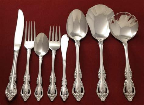 oneida silverware silver flatware community plate silverplated brahms choice