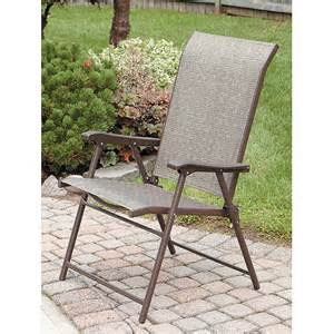 purchase the mainstays sling folding chair at an always