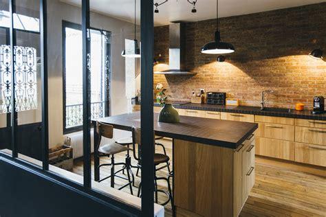cuisines leroy merlin prix une cuisine rustique et moderne des cuisines avec