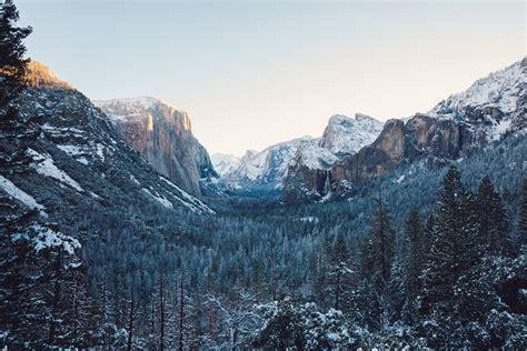 Yosemite Winter 4k Hd Nature 4k Wallpapers Images