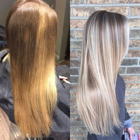 hair color correction before and after color correction g hair in 2019