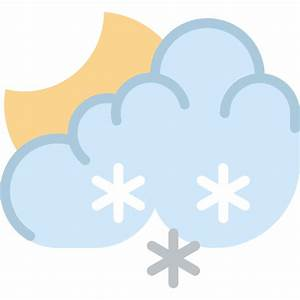 Snow - Free weather icons