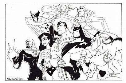 Justice League Coloring Pages Animated Printable Lego