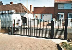 Portail Saint Pol sur Ternoise Pose portail bois, pvc, alu (62)