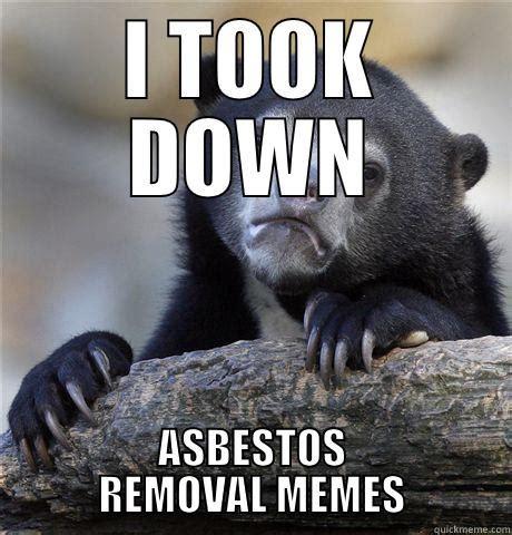 asbestos bear quickmeme