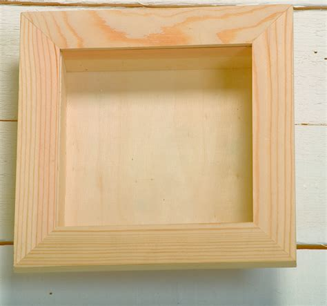 wooden box frame large square wooden 3 d shadow box frame with 1155