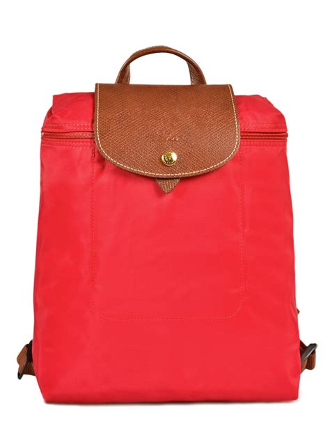 longchamp backpack le pliage  prices