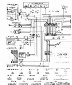 Subaru Forester Alternator Wiring Diagram