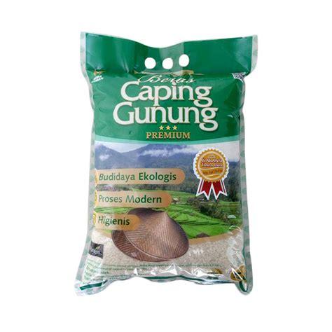 Beras Hoki Premium 5 Kg jual caping gunung green label premium pulen wangi beras