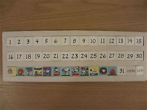 danbury mint peanuts snoopy perpetual calendar replacement