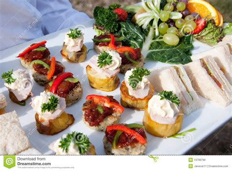 fruit canapes canapes fruit royalty free stock images image 13799799