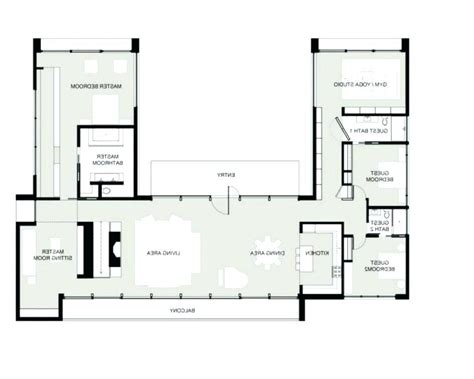 shaped house plans small  shaped house plans beautiful