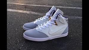 Nike Kobe 9 NSW Lifestyle - Wolf Grey/White - YouTube  Nike