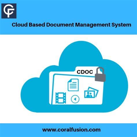 cloud based document management system ensures data