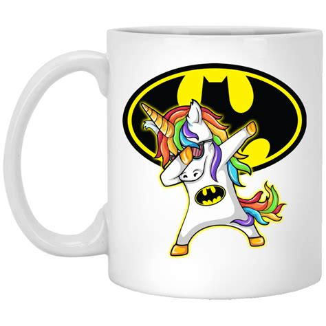 batman unicorn dabbing coffee mugs robinplacefabrics