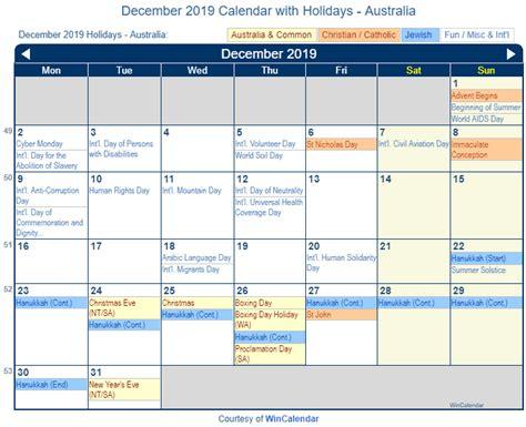 calendar australia home sweet home