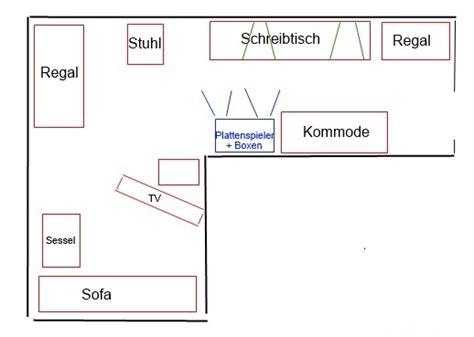 Wohnzimmer L Form Einrichten by Wohnzimmer In L Form Wohin Mit Den Boxen Akustik Hifi