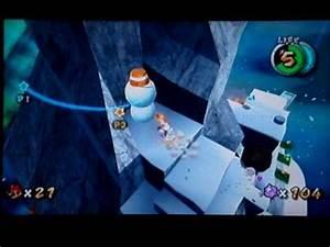 Super Mario Galaxy Walkthrough: Freezeflame Galaxy Secret ...