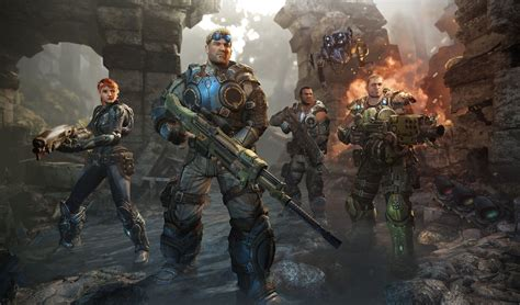 Review Gears Of War Judgment Offers Shallow Campaign But