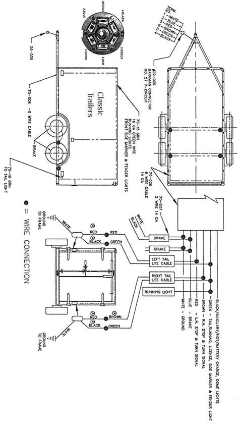 Trailer Wiring Diagram Wire Circuit Jeep