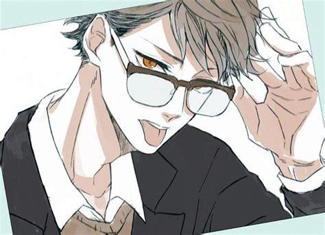 haikyuu  reader  chars  reader eye glasses