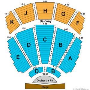 Tulsa Performing Arts Center Seating Chart