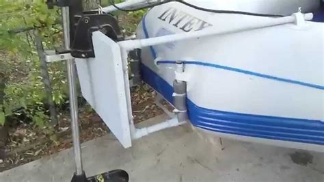 How To Build A Boat Pod by How To Build A Trolling Motor Mount