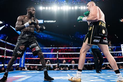 WORLD EXCLUSIVE: Tyson Fury vs Deontay Wilder III proposed ...