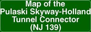 Map Of The Pulaski Skyway