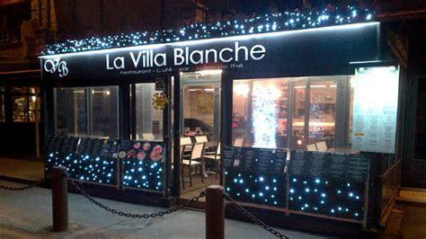 restaurant la villa blanche  cancale  avis menu