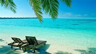 Wallpapers Beach Tropical Desktop Summer Resolution Backgrounds