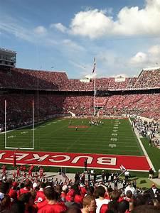 Ohio Football Stadium Seating Chart Ohio Stadium Section 38a Rateyourseats Com