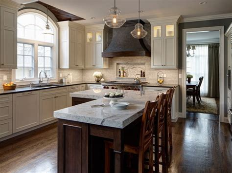 L shaped kitchen island   Interior & Exterior Ideas