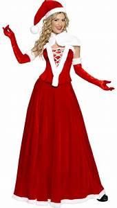 Déguisement Mère Noel Femme : d guisement robe m re no l de luxe noel and christmas pics ~ Melissatoandfro.com Idées de Décoration