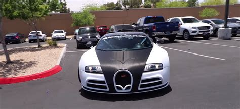 Can you truly put a price on an exotic car? How Much is a Bugatti Veyron with a Mansory Body Kit Worth at CarMax?