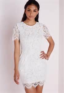 robe mariã e dentelle robe en dentelle blanche mi longue la mode des robes de