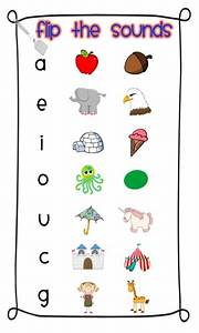 short vowels picmia With letter sounds poster