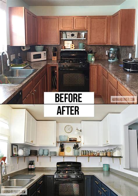 budget kitchen remodel   hannah