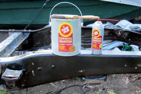 undercoating fluid film vehicle lawnsite