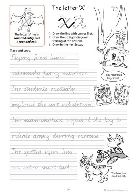handwriting conventions qld year  teachers
