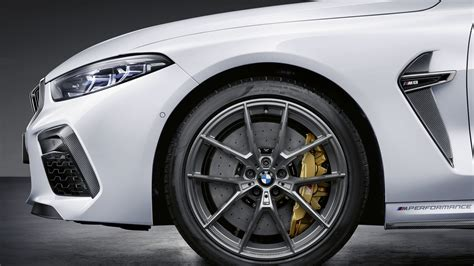 Bmw M8 M Performance Parts by Bmw Rolls Out List Of M8 M Performance Parts