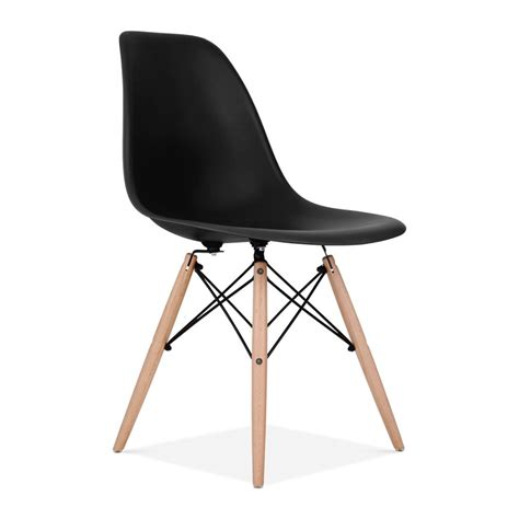 eames style black dsw chair side cafe chairs cult