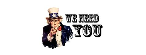 We Need You | News | News and Events